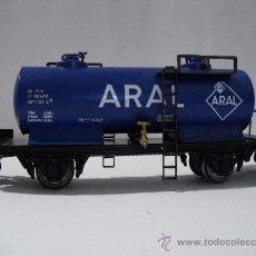 Trenes Escala: ELECTROTREN -VAGON CISTERNA ARAL, RENFE -ESC H0-. Lote 38750299