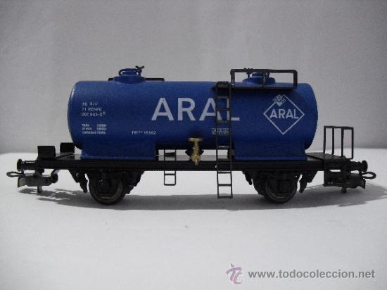 Trenes Escala: ELECTROTREN 1713 ,VAGON CISTERNA ARAL,ESC HO - Foto 2 - 38758453