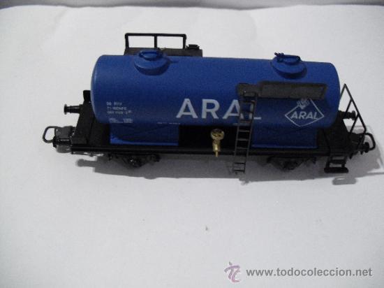 Trenes Escala: ELECTROTREN 1713 ,VAGON CISTERNA ARAL,ESC HO - Foto 3 - 38758453
