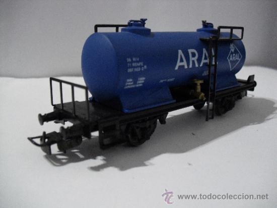 Trenes Escala: ELECTROTREN 1713 ,VAGON CISTERNA ARAL,ESC HO - Foto 4 - 38758453