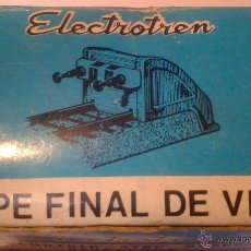 Trenes Escala: TOPE FINAL VIA ELECTROTREN REF.199 - NUEVO EN SU CAJA SIN USAR -. Lote 73652981