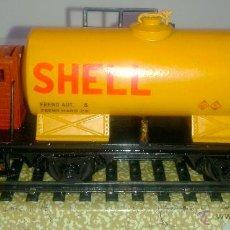 Trenes Escala: ELECTROTREN - VAGON CISTERNA - SHELL - DB -. Lote 42029225