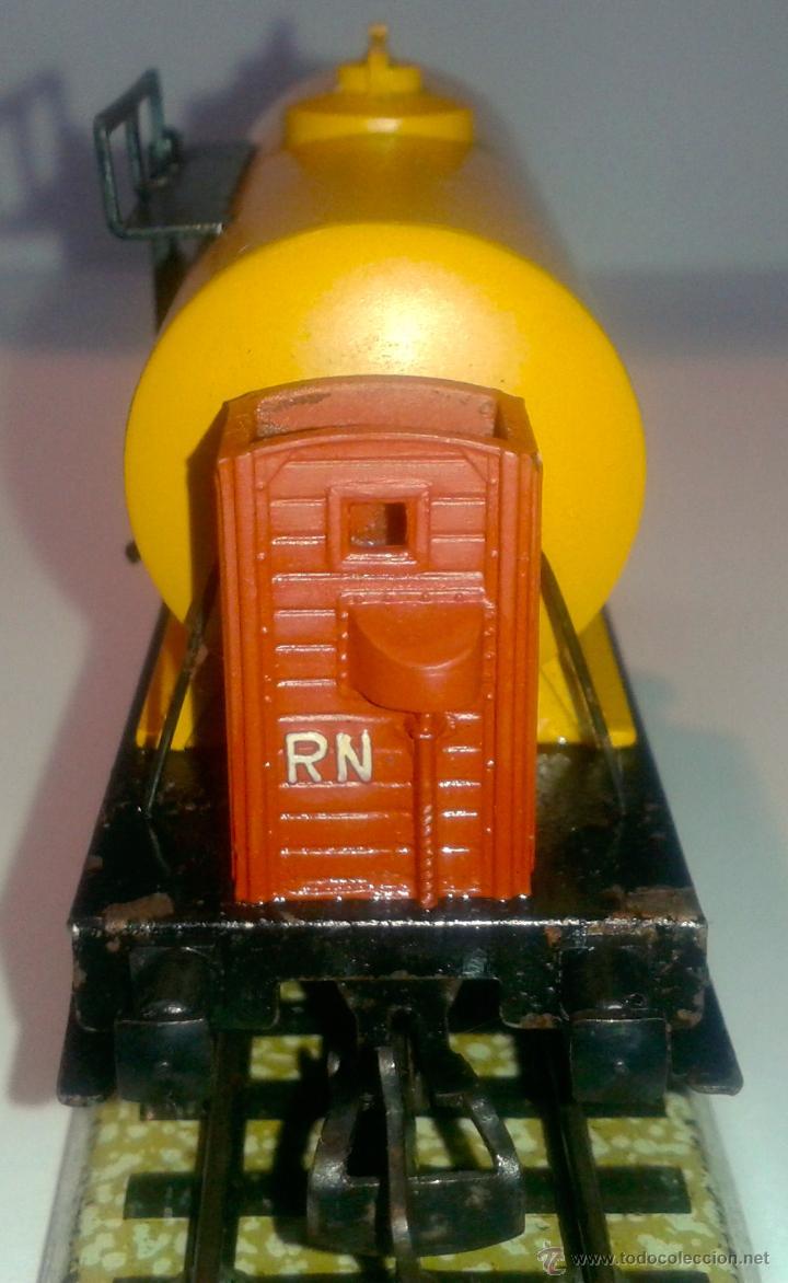 Trenes Escala: ELECTROTREN - VAGON CISTERNA - SHELL - DB - - Foto 3 - 42029225