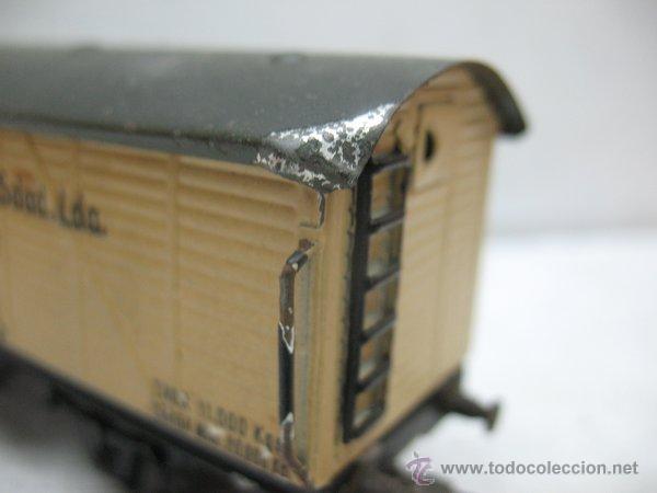 Trenes Escala: Electrotren - Antiguo vagón de chapa de mercancías vagones frigoríficos Madrid 1ª época - Escala H0 - Foto 7 - 43860774