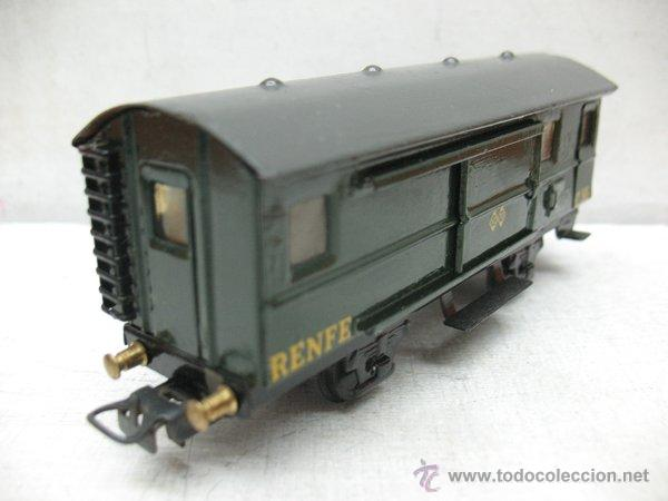 Trenes Escala: Electrotren Renfe - Antiguo vagón de chapa de mercancías C 36 1340 1ª época - Escala H0 - Foto 6 - 43860884