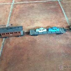 Trenes Escala: LOCOMOTORA ELECTROTREN M Z A 179 Y VAGONES. Lote 46141146