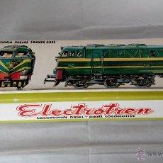 Trenes Escala: LOCOMOTORA ELECTROTREN 333 AÑOS 70 COMO NUEVA REF: 2020. Lote 209190115