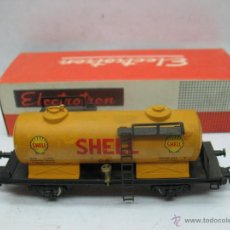 Trenes Escala: ELECTROTREN - VAGÓN CISTERNA SHELL - ESCALA H0. Lote 49977028