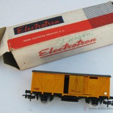 Trenes Escala: TREN VAGON ANTIGUO ELECTROTREN EN CAJA RENFE RN HO. Lote 50310731