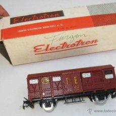 Trenes Escala: TREN VAGON ANTIGUO ELECTROTREN EN CAJA RENFE RN HO TE 110 . Lote 50331153