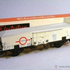 Trenes Escala: ELECTROTREN #1470 ESCALA H0. VAGÓN CERRADO BLANCO TRANSFESA . Lote 51414816