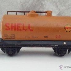Trenes Escala: ANTIGUO VAGON SHELL ELECTROTREN. Lote 52337688