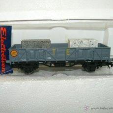 Trenes Escala: T.E. VAGÓN X REF. 1125 CARGA DE MÁRMOL ELECTROTREN SERIE LIMITADA AAFG. Lote 54181132