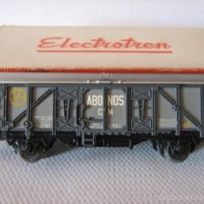 Trenes Escala: ELECTROTREN. VAGON CERRADO. ABONOS CM -UTIEL- HO. Lote 56188352