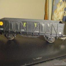 Trenes Escala: ELECTROTREN. VAGÓN BORDES ALTOS 1203, MUY RARO (VER).. Lote 56518927