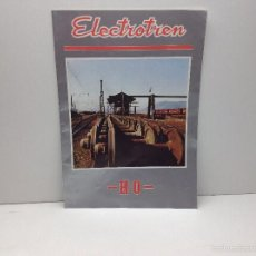 Trenes Escala: CATALOGO ELECTROTREN HO 1974. Lote 56773874