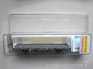 VAGÓN DE TELEROS TIPO KS (Juguetes - Trenes Escala H0 - Electrotren)