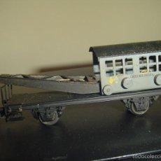 Trenes Escala: ELECTROTREN H0. ANTIGUO VAGÓN GRÚA. Lote 57070055