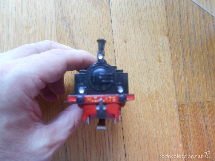 Trenes Escala: ANTIGUA MAQUINA ELECTROTREN M.Z.A 179, EN SU CAJA ORIGINAL LEER - Foto 16 - 57487947