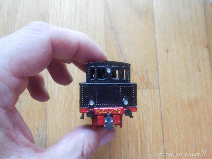 Trenes Escala: ANTIGUA MAQUINA ELECTROTREN M.Z.A 179, EN SU CAJA ORIGINAL LEER - Foto 18 - 57487947