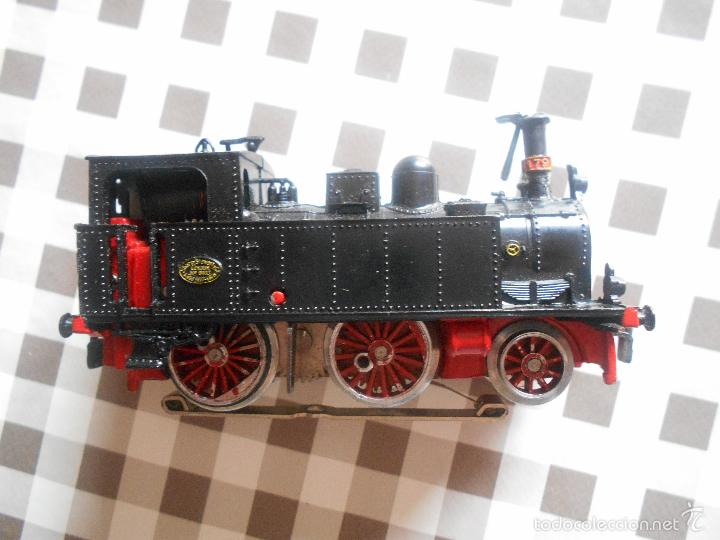 Trenes Escala: ANTIGUA MAQUINA ELECTROTREN M.Z.A 179, EN SU CAJA ORIGINAL LEER - Foto 22 - 57487947