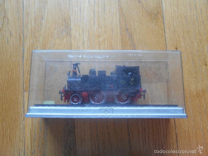 Trenes Escala: ANTIGUA MAQUINA ELECTROTREN M.Z.A 179, EN SU CAJA ORIGINAL LEER - Foto 24 - 57487947