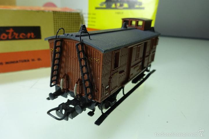 Trenes Escala: BONITO VAGÓN DE EQUIPAJES - ELECTROTREN - CAJA ORIGINAL - ESCALA H0 - - Foto 4 - 60963827