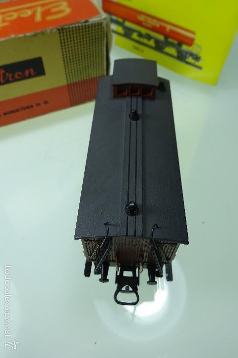 Trenes Escala: BONITO VAGÓN DE EQUIPAJES - ELECTROTREN - CAJA ORIGINAL - ESCALA H0 - - Foto 5 - 60963827