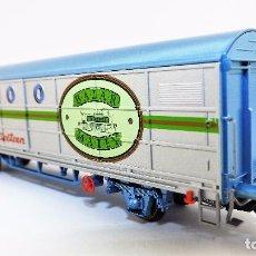 Trenes Escala: ELECTROTREN MATEY 007 VAGÓN CONMEMORATIVO. Lote 62967352