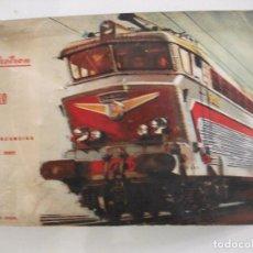Trenes Escala: TRENES ELECTRICOS ELECTROTREN CAJA CON LOCOMOTORA 179, 2 VAGONES, VIAS, TRANSFORMADOR. Lote 68836349
