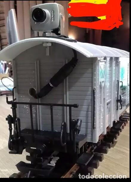 Usado, CAMARA SIN CABLES vagon locomotoras wireless ROCO MABAR ELECTROTREN MARKLIN IBERTREN segunda mano