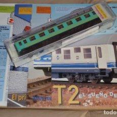Trenes Escala: VAGÓN CLUB ELECTROTREN - SEGUNDO VAGÓN Y NUMS DEL 5 AL 8 - PERFECTO ESTADO - NUNCA SACADO DE CAJA. Lote 75784135