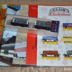 Trenes Escala: VAGÓN CLUB ELECTROTREN - QUINTO VAGÓN, NUMS DEL 17 AL 20 Y CATALOGO - PERFECTO - NUNCA SACADO CAJA. Lote 75785947