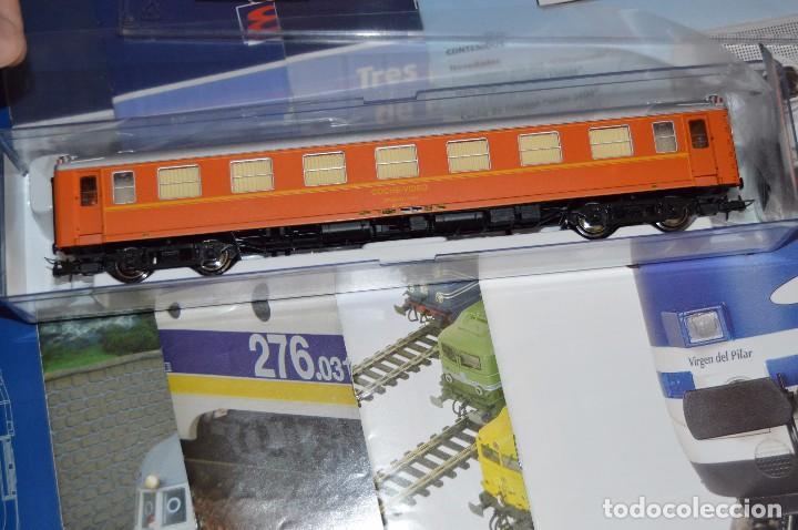 Trenes Escala: VAGÓN CLUB ELECTROTREN - SEPTIMO VAGÓN, NUMS DEL 25 AL 28 Y CATALOGO - PERFECTO - NUNCA SACADO CAJA - Foto 3 - 75788063