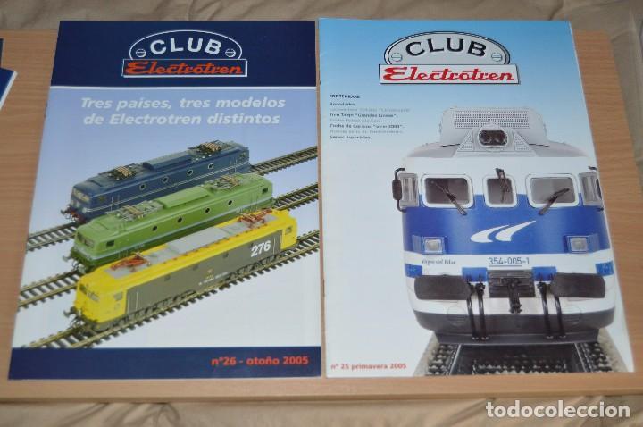 Trenes Escala: VAGÓN CLUB ELECTROTREN - SEPTIMO VAGÓN, NUMS DEL 25 AL 28 Y CATALOGO - PERFECTO - NUNCA SACADO CAJA - Foto 6 - 75788063