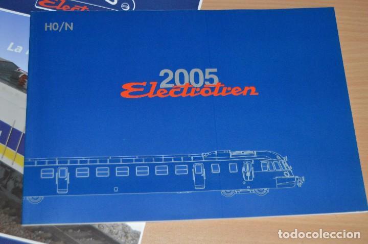 Trenes Escala: VAGÓN CLUB ELECTROTREN - SEPTIMO VAGÓN, NUMS DEL 25 AL 28 Y CATALOGO - PERFECTO - NUNCA SACADO CAJA - Foto 13 - 75788063