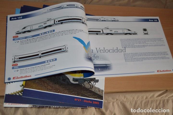 Trenes Escala: VAGÓN CLUB ELECTROTREN - SEPTIMO VAGÓN, NUMS DEL 25 AL 28 Y CATALOGO - PERFECTO - NUNCA SACADO CAJA - Foto 15 - 75788063