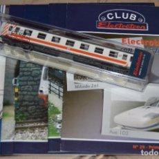 Trenes Escala: VAGÓN CLUB ELECTROTREN - OCTAVO VAGÓN, NUMS DEL 29 AL 32 Y CATALOGO - PERFECTO - NUNCA SACADO CAJA. Lote 75788519