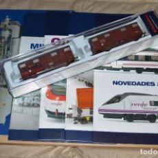 Trenes Escala: VAGÓN CLUB ELECTROTREN VAGON Nº 12, NUMS DEL 45 AL 48 Y CATALOGO - PERFECTO - NUNCA SACADO CAJA. Lote 75789867