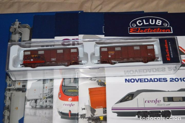 Züge Spur: VAGÓN CLUB ELECTROTREN VAGON Nº 12, NUMS DEL 45 AL 48 Y CATALOGO - PERFECTO - NUNCA SACADO CAJA - Foto 2 - 149597336