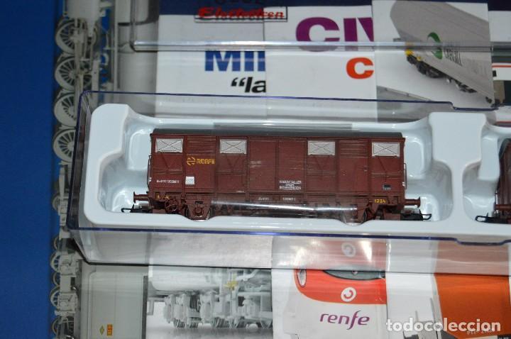 Züge Spur: VAGÓN CLUB ELECTROTREN VAGON Nº 12, NUMS DEL 45 AL 48 Y CATALOGO - PERFECTO - NUNCA SACADO CAJA - Foto 3 - 149597336