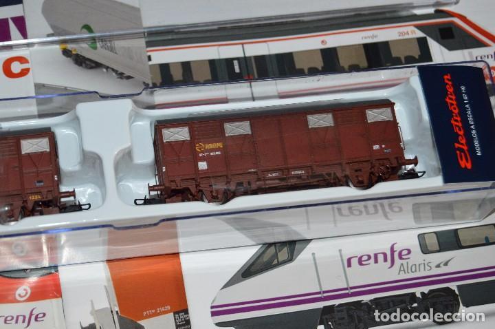 Züge Spur: VAGÓN CLUB ELECTROTREN VAGON Nº 12, NUMS DEL 45 AL 48 Y CATALOGO - PERFECTO - NUNCA SACADO CAJA - Foto 4 - 149597336