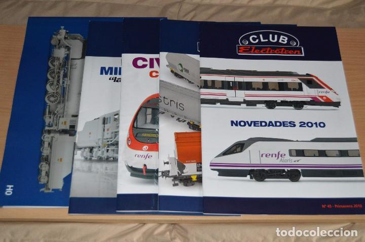 Züge Spur: VAGÓN CLUB ELECTROTREN VAGON Nº 12, NUMS DEL 45 AL 48 Y CATALOGO - PERFECTO - NUNCA SACADO CAJA - Foto 6 - 149597336