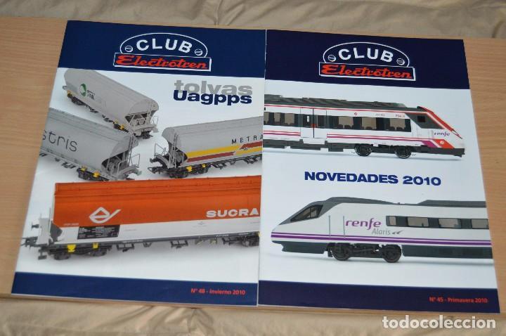 Züge Spur: VAGÓN CLUB ELECTROTREN VAGON Nº 12, NUMS DEL 45 AL 48 Y CATALOGO - PERFECTO - NUNCA SACADO CAJA - Foto 7 - 149597336