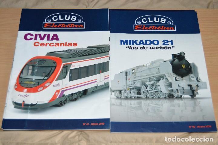 Züge Spur: VAGÓN CLUB ELECTROTREN VAGON Nº 12, NUMS DEL 45 AL 48 Y CATALOGO - PERFECTO - NUNCA SACADO CAJA - Foto 10 - 149597336