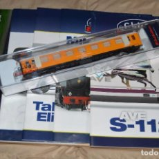 Trenes Escala: VAGÓN CLUB ELECTROTREN VAGON Nº 13, NUMS DEL 49 AL 52 Y CATALOGO - PERFECTO - NUNCA SACADO CAJA. Lote 119015543