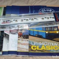 Trenes Escala: VAGÓN CLUB ELECTROTREN VAGON Nº 14, NUMS DEL 53 AL 56 Y CATALOGO - PERFECTO - NUNCA SACADO CAJA. Lote 75790379