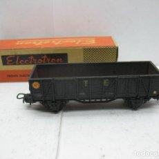 Trenes Escala: ELECTROTREN - VAGÓN DE MERCANCÍAS ABIERTO CON BORDE ALTO TE RENFE 1971 - ESCALA H0. Lote 83365828