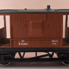 Trenes Escala: HORNBY (ELECTROTREN) H0 - VAGÓN DE FRENOS. Lote 83566508