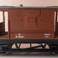 Trenes Escala: HORNBY (ELECTROTREN) H0 - VAGÓN DE FRENOS. Lote 83566656
